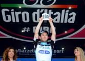 090513 OPQS Giro stage 6 - Cavendish podium (c)Tim De Waele