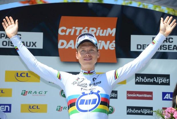 OPQS Dauphine Stage 4 - Martin podium ©Tim De Waele 620