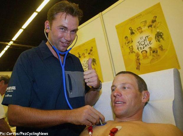 Hoogvliet -  Zaak Lance Armstrong case - Lance Armstrong - Johan