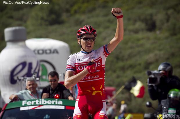 Photo: 2011 Vuelta a Espa�a stage win.