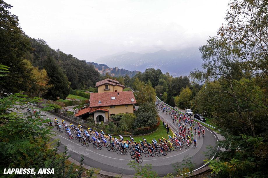 Gara ciclistica 'Il Lombardia' - Gara