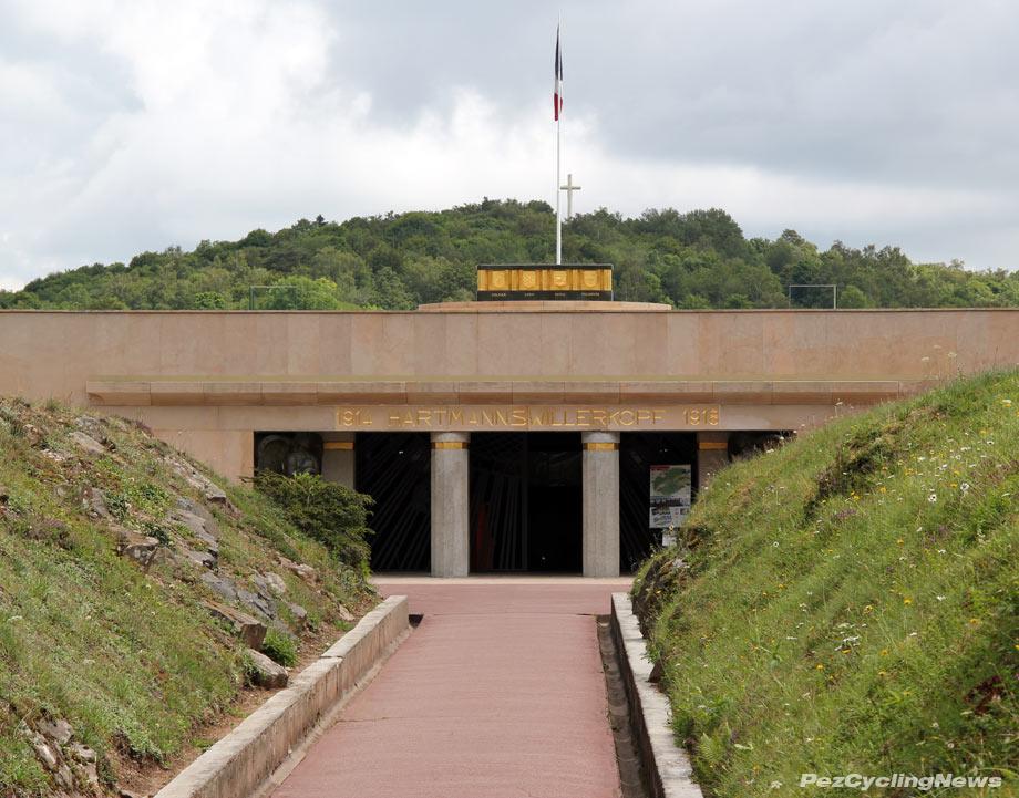 Hartmannswillerkopf entrance