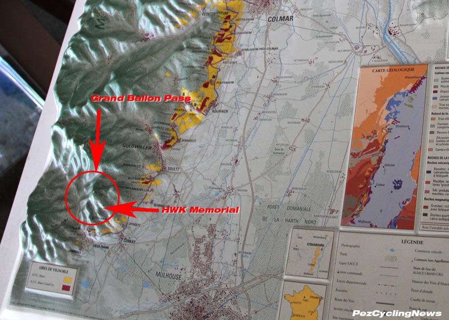 Hartmannswillerkopf map