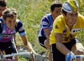Wielrennen-cycling-Archief-Archive-foto-picture- Bernard Hinault en Joop Zoetemelk- foto Cor Vos ©2004