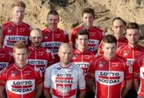 Lotto - Soudal team photoshoot 2016