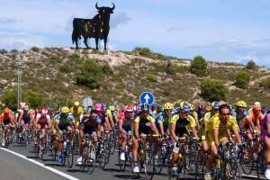 Alta de Aitana, 15e etappe Ronde van Spanje, foto Cor Vos ©2001 Sfeer peloton