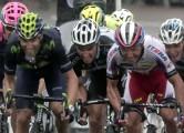 Ans - Belgium- wielrennen - cycling - radsport - cyclisme -  Alejandro Valverde (Team Movistar) - Joaquin Rodriguez Oliver (Team Katusha)    pictured during Liege - Bastogne - Liege 2015 (1.UWT)  - photo Dion Kerckhoffs/Cor Vos © 2015