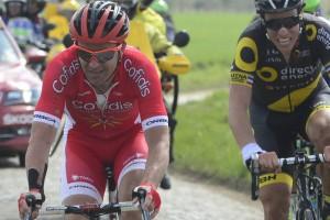 10-04-2016 Paris - Roubaix; 2016, Cofidis Solutions Credits; Bozic, Borut; Warlaing A Brillon;