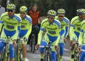 Giro d'Italia 2015 - Sanremo - 07/05/2015 - Ivan Basso (Tinkoff - Saxo) - Alberto Contador (Tinkoff - Saxo) - foto Roberto Bettini/BettiniPhoto©2015