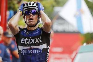 David de la Cruz   133(ETIXX QUICKSTEP)Gana la 9ª Etapa de la Vuelta a España entre Cistierna-Oviedo Alto del Naranco
