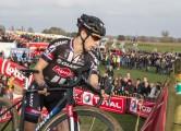 Ruddervoorde - Belgium - wielrennen - cycling - radsport - cyclisme - Lars Van Der Haar (Team Giant - Alpecin) pictured during the Cyclocross Ruddervoorde Super Prestige veldrijden - photo PM/PN/Cor Vos © 2015