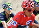 Nairo Quintana on stage 20 of the 2016 Vuelta a EspaÒa