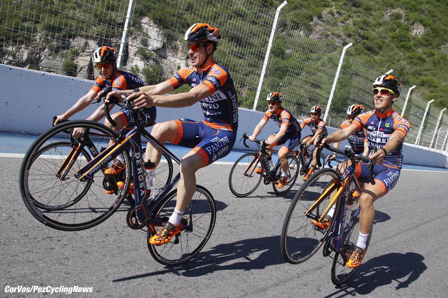 San Luis - Argentina - wielrennen - cycling - radsport - cyclisme - Nippo - Vini Fantini De Rosa pictured during training Tour de San Luis 2015 - photo iB/RB/Cor Vos © 2015