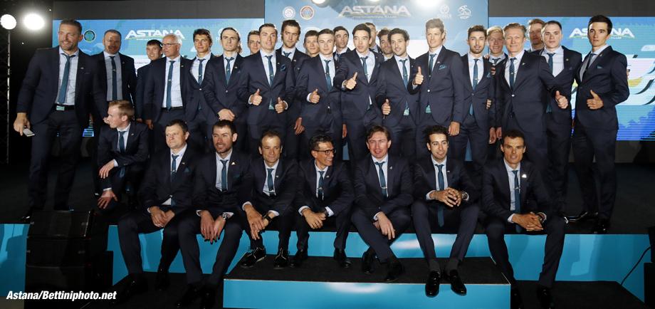 Presentation Astana Pro Team 2017 - 11/12/2016 - - photo Luca Bettini/BettiniPhoto©2016