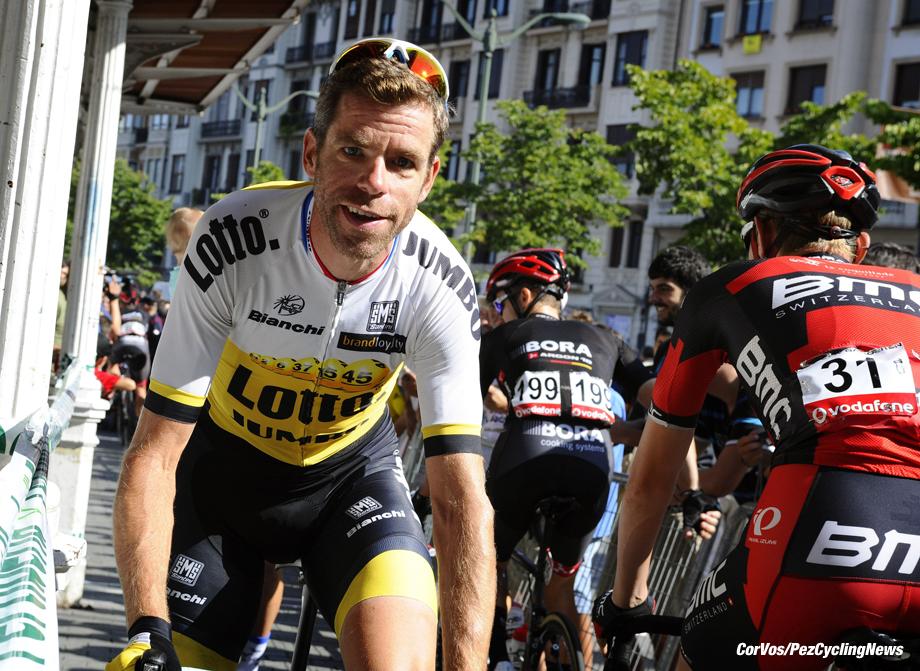 Urdax-Dantxarinea - Spain - wielrennen - cycling - radsport - cyclisme - Bram Tankink (Netherlands / Team LottoNL - Jumbo) pictured during stage 13 from Bilbao to Urdax-Dantxarinea - Vuelta Espana 2016 - photo Miwa iijima/Cor Vos © 2016