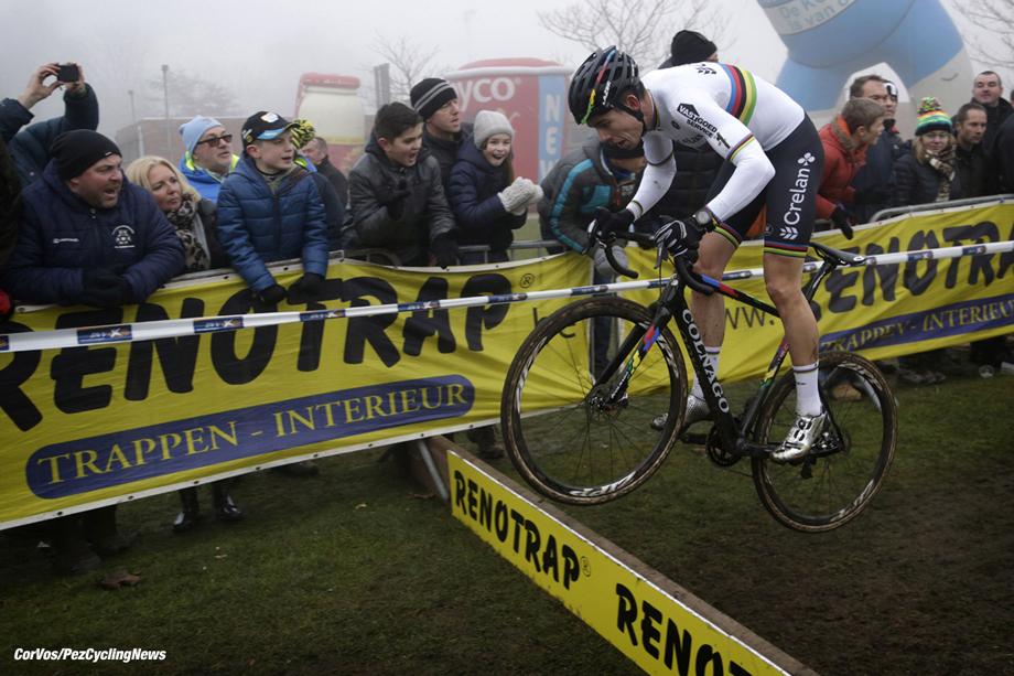 Loenhout - Belgium - wielrennen - cycling - radsport - cyclisme - Wout van Aert    pictured during the men's elite DVV Verzekeringen Trofee cyclocross race, the Azencross  in Loenhout - photo Anton Vos/Cor Vos © 2016
