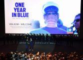 Cycling : Team Quick-Step Floors 2017 / Team PresentationIllustration / Public / Tom BOONEN (BEL)One Year in Blue Movie / Kinepolis Cinema / Team Presentation / (c)Tim De Waele