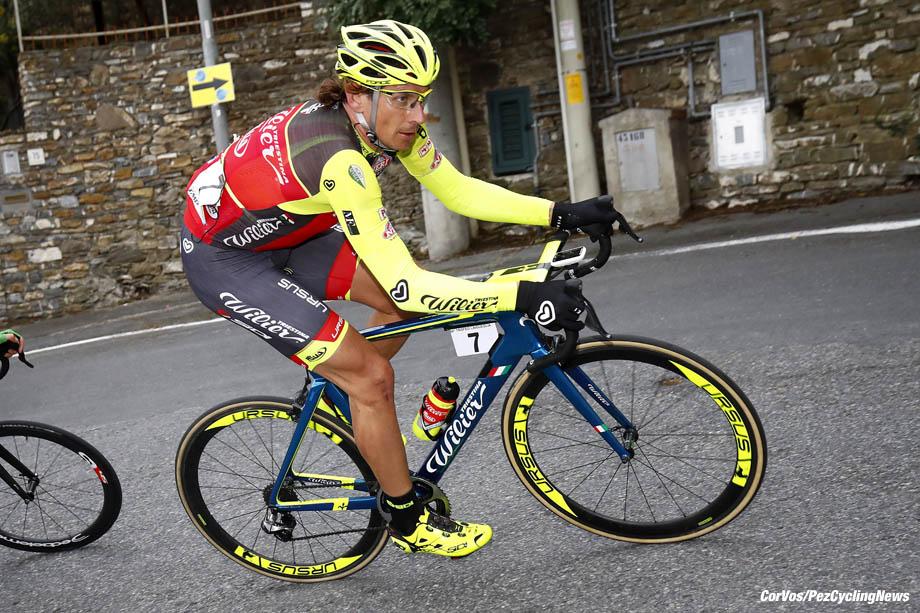 Laigueglia - Italy - wielrennen - cycling - radsport - cyclisme -  Filippo Pozzato (ITA - Wilier Selle Italia)  pictured during 54th Trofeo Laigueglia (1.HC) from Laigueglia to  Laigueglia (192.5k) - photo LB/RB/Cor Vos © 2017