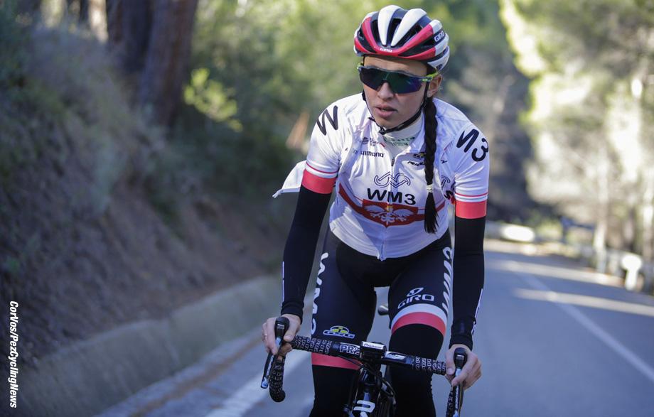 Calpe - Spain - wielrennen - cycling - cyclisme - radsport - Niewiadoma Katarzyna Kasia (Poland / WM3 Pro Cycling) pictured during trainingscamp team WM3 Pro Ccyling team 2017foto Anton Vos/Cor Vos © 2017