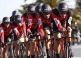 Lido di Camaiore - Italia - wielrennen - cycling - cyclisme - radsport - team BMC pictured during the Tirreno - Adriatico - stage-1- Team Time Trial in Lido di Camaiore TTT, 22.70 km - foto: LB/RB/Cor Vos © 2017