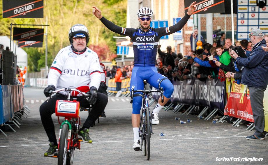 Hamme Zogge - Belgium - wielrennen - cycling - radsport - cyclisme - Tom Boonen (Belgium / Team Etixx - Quick Step) pictured during Derny Criterium in Hamme Zogge - photo Cor Vos © 2016