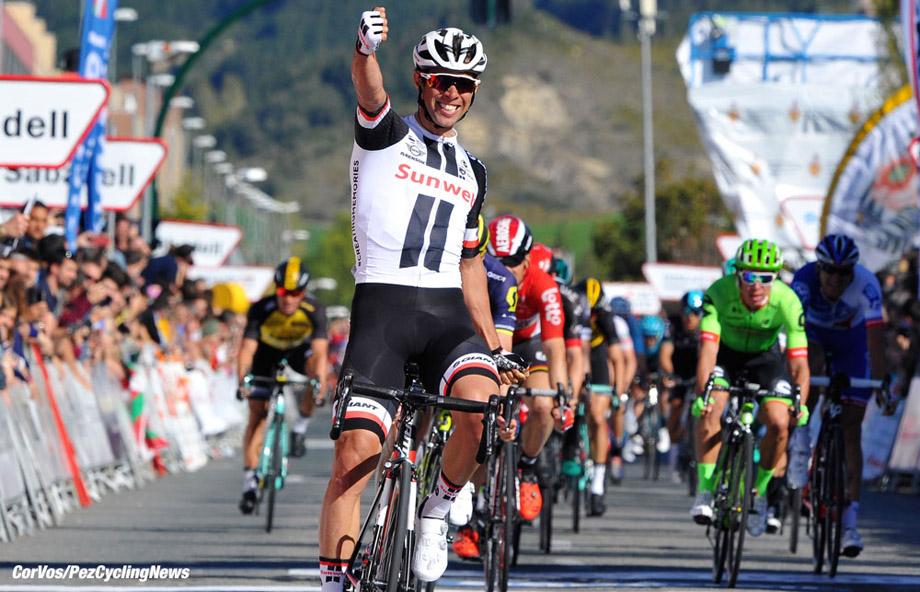 Sarriguren - Spain - wielrennen - cycling - radsport - cyclisme - Michael James MATTHEWS (Australia / Team Sunweb) pictured duringstage - 1 of the 57th Vuelta al Pais Vasco (2.UWT) - from Eguesibar to Sarriguren (153.3k) photo Miwa iijima/Cor Vos © 2017
