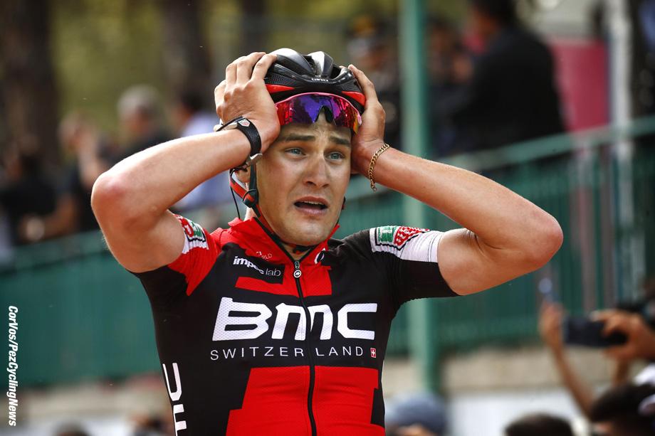 Terme Luigiane - Italia - wielrennen - cycling - radsport - cyclisme - Silvan Dillier (SUI - BMC) pictured during team stage 6 of the Giro D'Italia 2017 from Reggio Calabria - Terme Luigiane, 207.00 km - photo LB/RB/Cor Vos © 2017