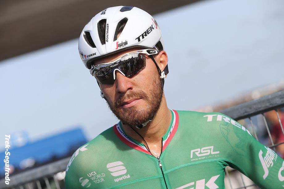 Giro d'Italia 2017 - 100th Edition - 1st stage Alghero - Olbia 208 km - 05/05/2017 - Giacomo Nizzolo (ITA - Trek - Segafredo)- photo Ilario Biondi/BettiniPhoto©2017