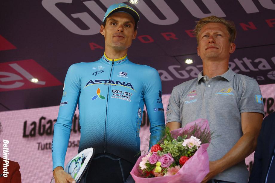 Giro d'Italia 2017 - 100th Edition - 21th stage Monza - Milano 29.3 km - 27/05/2017 - Mikel Landa (ESP - Team Sky) - Alexandr Vinokourov (KAZ - Astana Pro Team) - photo Roberto Bettini/BettiniPhoto©2017