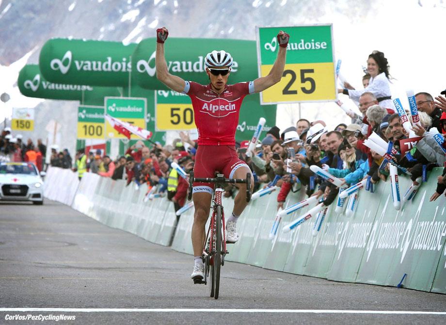 Solden - Austria - wielrennen - cycling - radsport - cyclisme - Simon SPILAK (Slowenia / Team Katusha - Alpecin)  pictured during stage - 7 of the Tour de Suisse 2017 - from Zernez - Solden, 160.80 km - photo Rene Vigneron/Cor Vos © 2017