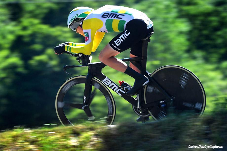 Schaffhausen - Suisse - wielrennen - cycling - radsport - cyclisme - Rohan DENIS (Australia / BMC Racing Team)  pictured during stage - 9 of the Tour de Suisse 2017 stage -1 - from Schaffhausen to  Schaffhausen, 28.60 km ITT - photo VK/PN/Cor Vos © 2017
