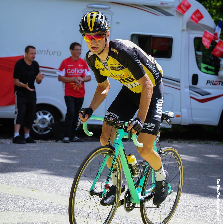 La Motte Servolex - France - wielrennen - cycling - radsport - cyclisme - Alexey VERMEULEN (USA / Team Lotto NL - Jumbo) pictured during stage - 6 of the 69th Criterium du Dauphine - from Le Parc-des-Oiseaux - La Motte Servolex, 147.50 km - photo Miwa iijima/Cor Vos © 2017