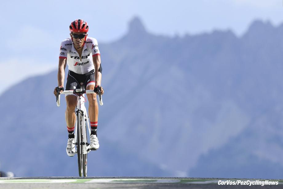 Izoard - France - wielrennen - cycling - cyclisme - radsport - CONTADOR Alberto (ESP) Rider of Trek - Segafredo pictured during the 104th Tour de France 2017 - stage 18 from Briançon to Izoard, 179.50 km - foto VK/PN/Cor Vos © 2017
