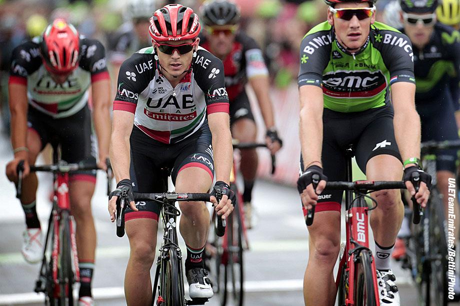 BinckBank Tour 2017 - 3rd stage Blankenberge - Ardooie 185 km - 09/08/2017 - Ben Swift (GBR - UAE Team Emirates) - photo Davy Rietbergen/CV/BettiniPhoto©2017