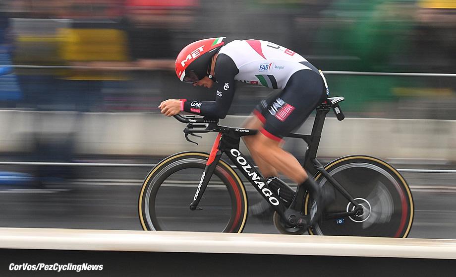 Düsseldorf - Germany  - wielrennen - cycling - cyclisme - radsport - SWIFT Ben of UAE Team Emirates  pictured during the 104th Tour de France 2017 - stage 1  - Düsseldorf ITT, 14.00 km - Time Trial - individual - foto  NV/VK/PN/Cor Vos © 2017