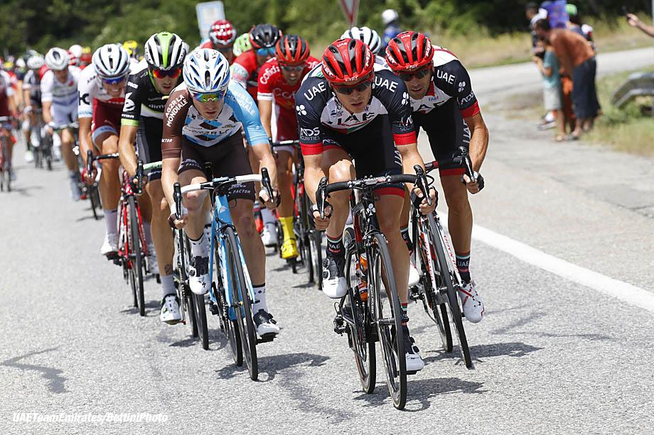 Tour de France 2017 - 104th Edition - 18th stage Briancon - Izoard 179.5 km - 20/07/2017 - Ben Swift (GBR - UAE Team Emirates) - photo Luca Bettini/BettiniPhoto©2017