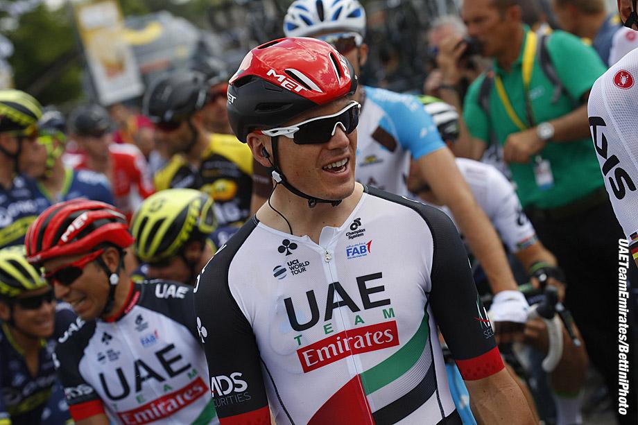 Tour de France 2017 - 104th Edition - 4th stage Mondotf les Bains - Vittel 207.5 km - 04/07/2017 - Ben Swift (GBR - UAE Team Emirates) - photo Luca Bettini/BettiniPhoto©2017