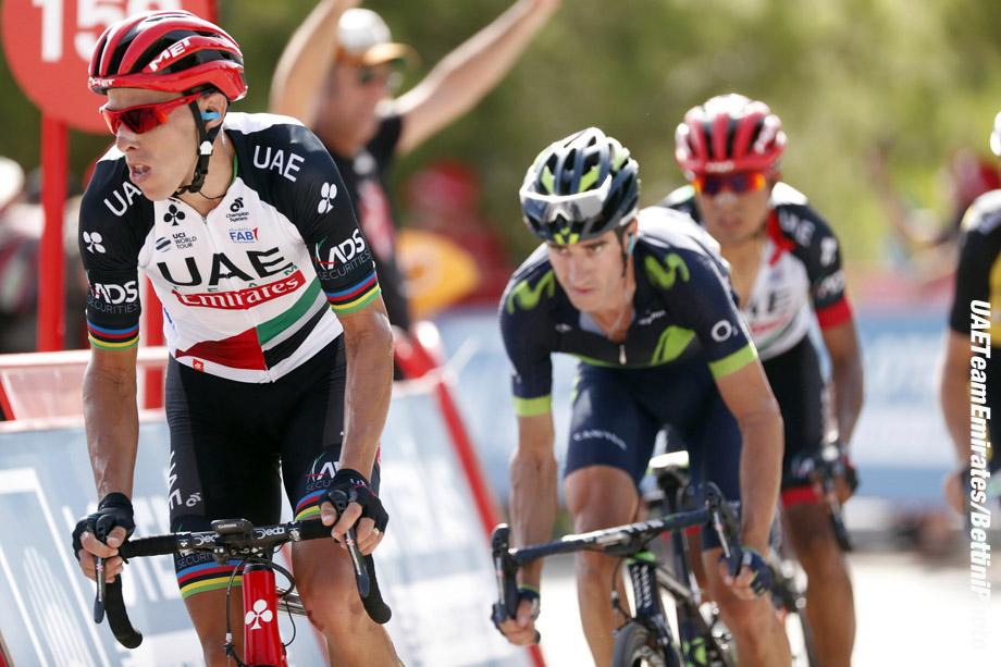 Vuelta Espana 2017 - 72th Edition - 8th stage Hellin - Xorret de Cati 199.5 km - 26/08/2017 - Rui Alberto Faria Da Costa (POR - UAE Team Emirates) - photo Luis Angel Gomez/BettiniPhoto©2017