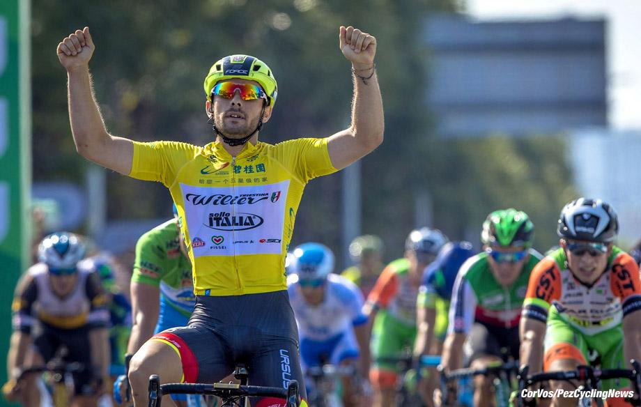 Tour of Hainan 2017 - 6th stage Changjiang - Sanya 219.6 km - 02/11/2017 - Jakub Mareczko (ITA - Wilier Selle Italia) - photo LB/RB/Cor Vos © 2017