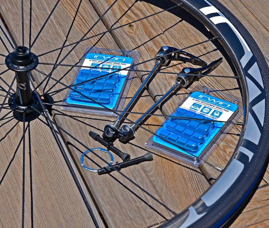 irwin wheels carbon 38 pads