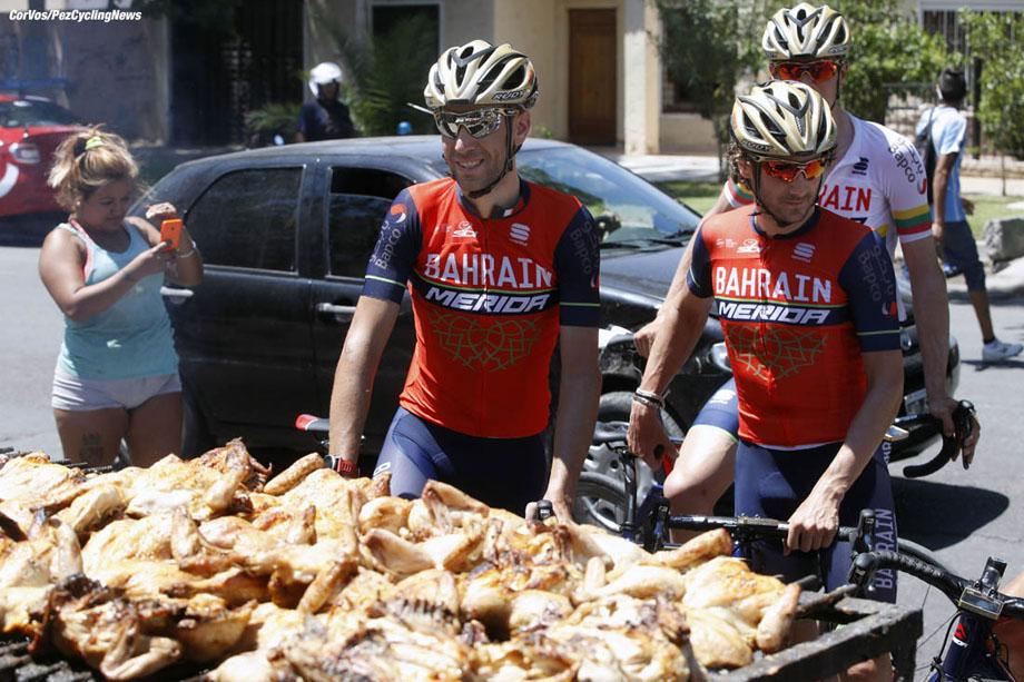 San Juan - Argentina - wielrennen - cycling - radsport - cyclisme - Vincenzo NIBALI (Italy / Team Bahrain - Merida) pictured during Vuelta a San Juan 2017 - 35th Edition - training - 23/01/2017 - photo IB/RB/Cor Vos © 2017