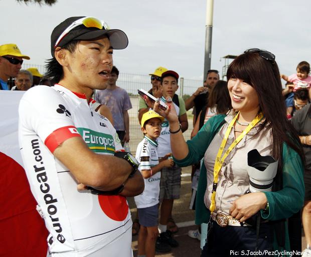 Arashiro_and_his_wife_Miwa