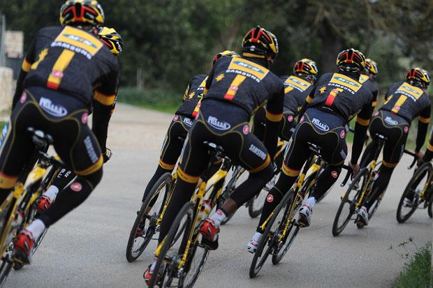 Cycling - MTN Qhubeka - Trainingscamp Mallorca 2014