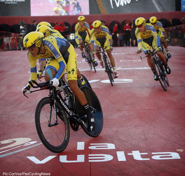 Tour of Spain 2014  - stage - 1 TTT