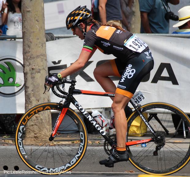 Kathryn Bertine at La Course 620