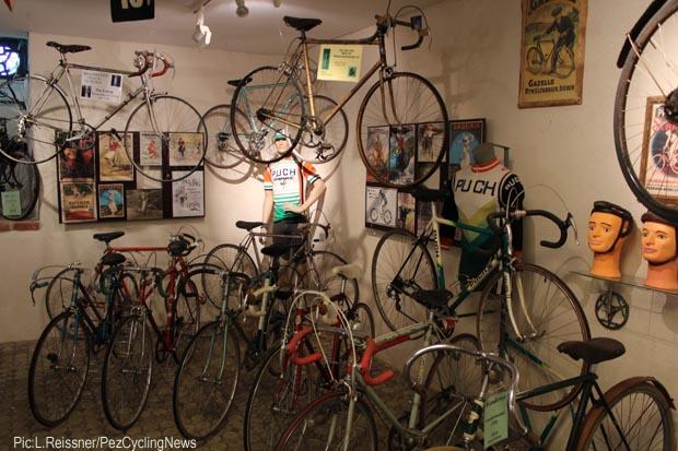 Racing bicyles on display-2-620