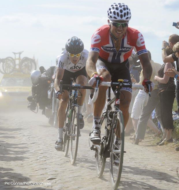 3e etappe Wanze Arenberg  TdFr  2010