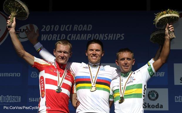 WK wielrennen op de weg Elite 2010