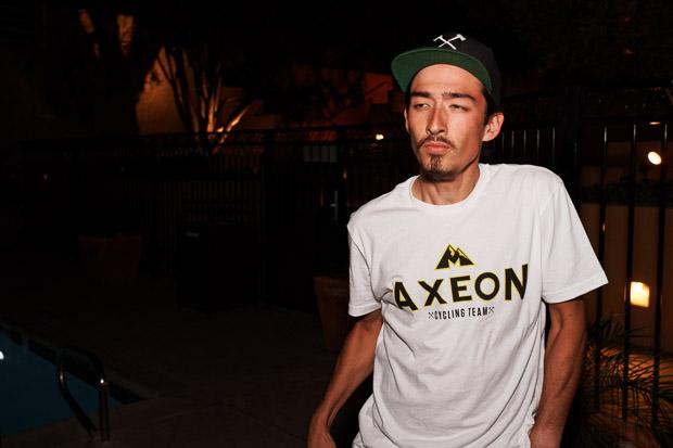 Axeon's Justin Oien. Photo: Davey Wilson - www.daveywilson.com