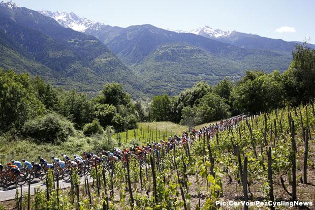 Giro d'Italia 2015 stage - 17